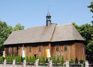 Drewniane kościoły ziemi wieluńskiej - Biała