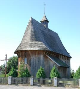 Drewniane kościoły ziemi wieluńskiej - Łaszew