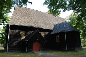 Drewniane kościoły ziemi wieluńskiej - Łyskornia