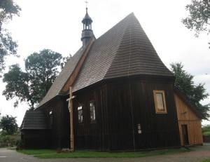 Drewniane kościoły ziemi wieluńskiej - Naramice