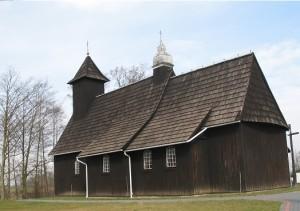 Drewniane kościoły ziemi wieluńskiej - Wierzbie