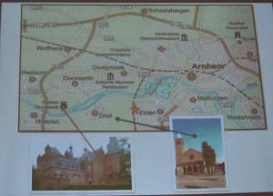 Cornelia Baltussen - Mapa okolic Arnhem
