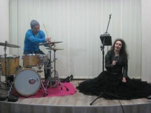 Iwona Karbowska, Przemysław Borowiecki Wiersze na operę i perkusję
