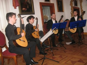 Od lewej:Marcin Kuźniar,Dariusz Lampkowski,Ziemowit Bućko, Theo Migeon