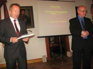 Od lewej Jan Książek i Maciej Rydel