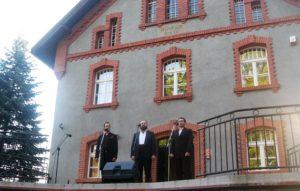 Od lewej: Sebastian Gabryś, Dominik Kujawa, Aleksander Bardasov