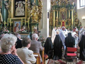 Wspólna Komunia św. po odnowieniu ślubów zakonnych