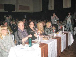 Pierwsza od lewej, członek jury IX Powiatowego Konkursu Piosenki Poetyckiej