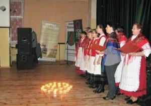 Zespół Śpiewaczo - Obrzędowy z Ożarowa uświetnił podsumowanie realizacji projektu