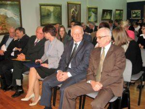 Uczestnicy I kolokwium w Muzeum Ziemi Wieluńskiej