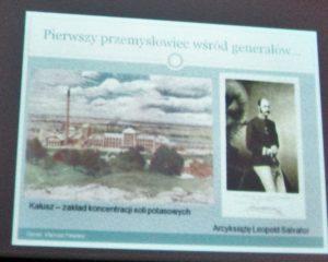 Jeden z prezentowanych slajdów