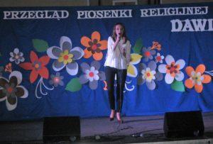 Ania Tyczka z II klasy KLO SPSK w Wieluniu