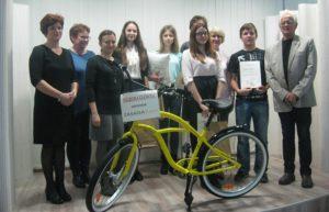 Organizatorzy, jury i zdobywcy głównych nagród w konkursie ortograficznym