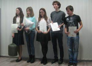 Zwycięzcy konkursu ortograficznego