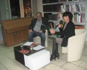 Ksiądz Zbigniew Bigaj i Lucyna Panaszek