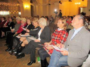 Uczestnicy światecznego spotkania