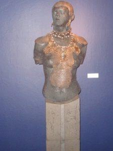 Wśród nadesłanych prac jedna rzeźba