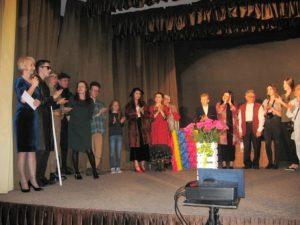 Aktorzy i organizatorzy spektaklu