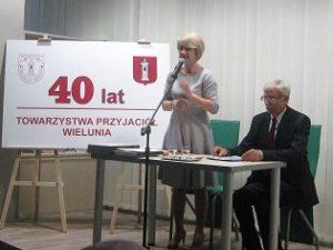 O działalności Towarzystwa Przyjaciół Wielunia mówi prezes Iwona Podeszwa