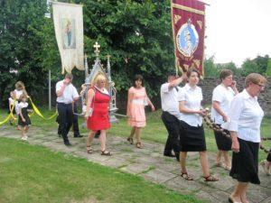 Feretrony i chorągwie procesyjne