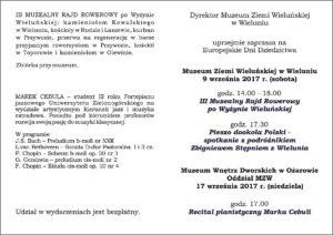 Szczegółowy Program Europejskich Dni Dziedzictwa