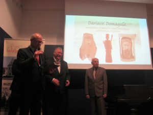Nagroda Starosty Wieluńskiego dla Dariusza Domagały