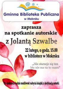 Zaproszenie na spotkanie autorskie